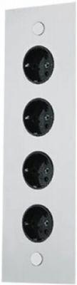 Energie-hoekzuil 4ST 320 stopcontact