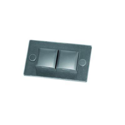Fronti inbouw stopcontact - Met led decorlicht