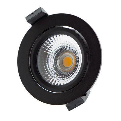 LED Inbouwspot Star 2700K Zwart